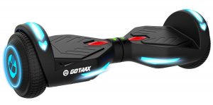 Features of the GOTRAX Hoverfly XL Hover Boards Electrical Safety Certified 5-inch rugged tires with high-quality materials Powerful dual Motor of 350W, powerful and smooth ride Bluetooth Speaker and App Maximum Speed Limit:4 mph (12 kph) Maximum Climbing Limit: 30 degrees Maximum Weight: 220lb (100 kg) Gross Weight: 32.9lb (14.92 kg) How does the Gotrax Hoverboard feel to ride? We're impressed with the quality of the hoverboard. It's sturdy, well built and has some nice features. The hoverboard is easy to maneuver and this ranks higher than other hoverboards we've tried. It can accommodate people of all ages and sizes. The Bluetooth HQ audio speaker allows you to keep track of stats using the IOS/Android app. The Battery indicator lights let you know when the device is charging, which usually happens within an hour. The HOVERFLY also has a capacity of 220-pound weight. Why choose Gotrax Hoverboards? Safety Each GOTRAX product is designed by top spaceflight engineers with high-quality construction for utmost safety. They are certified to UL 2272 electrical safety standards. Made in Denver, USA All products are manufactured right in the USA. Helps with fast and friendly customer support! Free Shipping Customers can enjoy fast, reliable and free shipping. They have a 30-Day no hassles return policy. 100% Customer Satisfaction All customers who purchased from Gotrax are very satisfied. Their ratings on popular sites like Amazon are a testimony to it. Where can you buy GOTRAX Products? GOTRAX products are available on their own site and with trusted retailers like Amazon, Wal-Mart and Dunham's Sports. Other Bestsellers on GOTRAX Have tons of fun with your family as you enjoy these hoverboards. Watch out their other popular products which include Foldable Electric Scooters Kid's Hoverboards Hoverboard GO-Kart Youth Bike/Skateboard Helmets Kids Electric Scooters